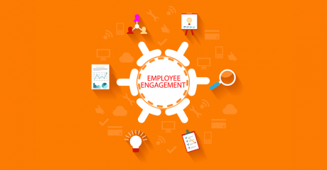 Employee engagement concept art
