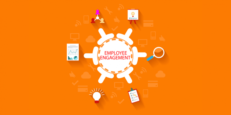 Employee engagement misconceptions concept