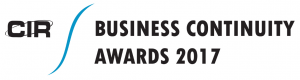 CIR Business Continuity Awards 2017
