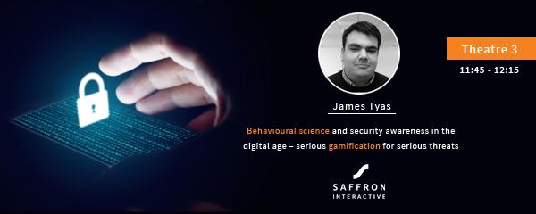 Advert for Saffron seminar on security awareness