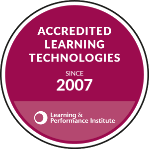 Accredited Learning Technologies since 2007 LPI badge