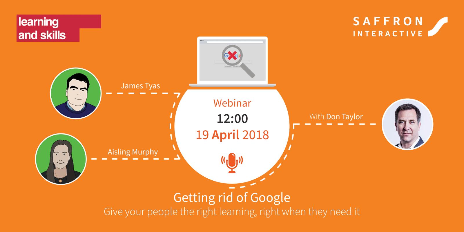 Getting rid of Google webinar advert