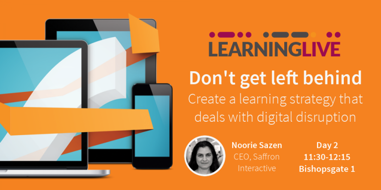 Learning Live workshop banner