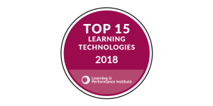 Learning and performance institute Top 15 Learning Technology provider