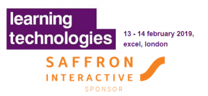Learning Technologies Saffron Interactive Sponsor