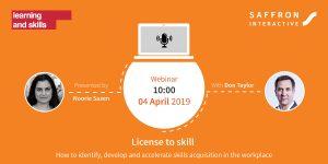 License to Skill webinar information
