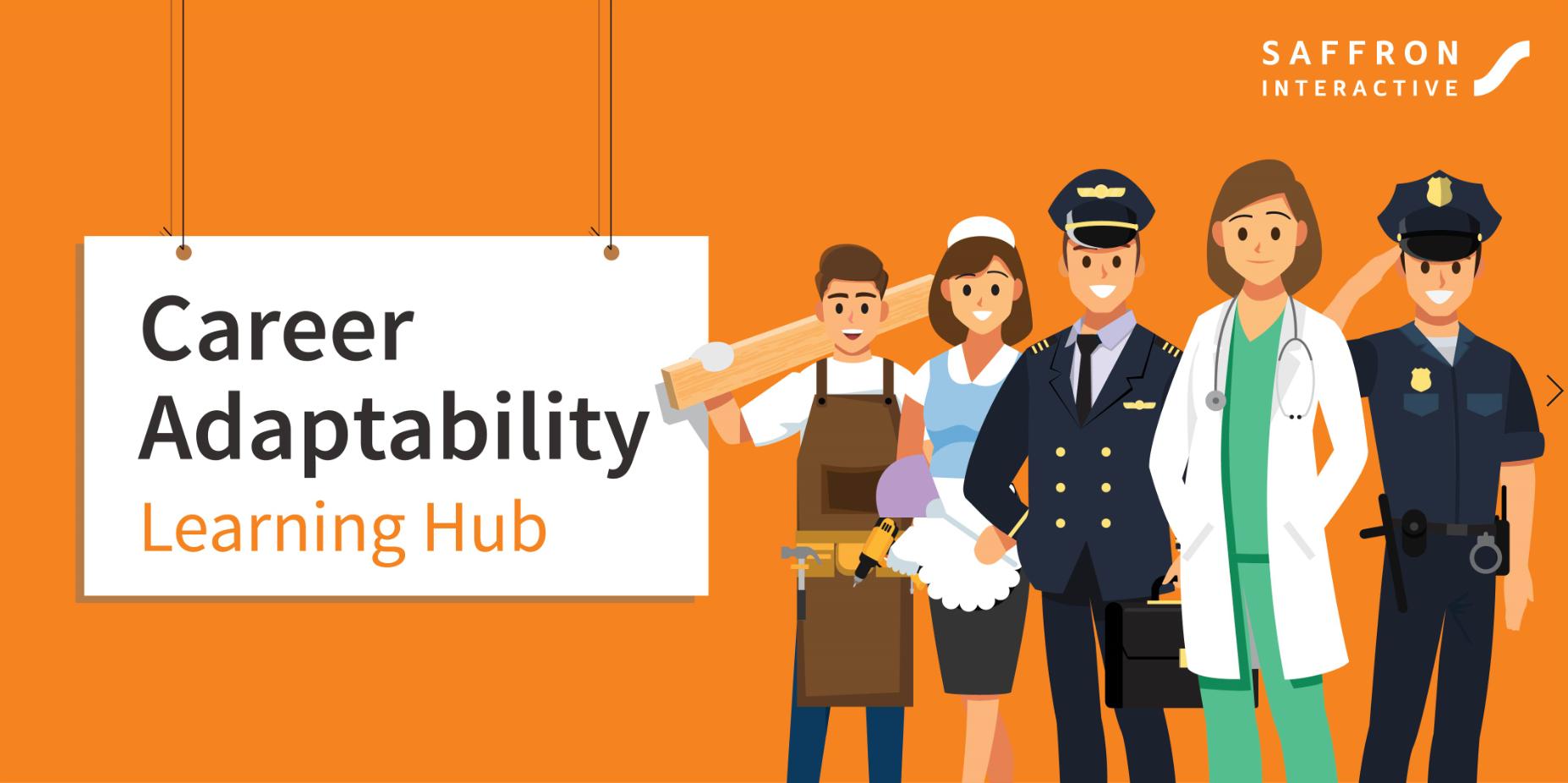 Saffron Interactive Career Adaptability Learning Hub