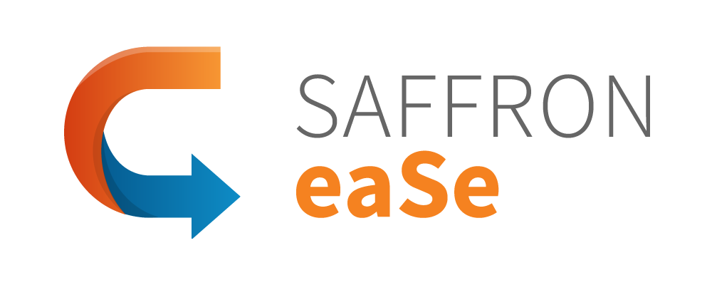 saffron eaSe point of need performance support tool logo