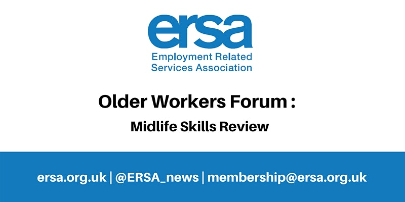 Image depicting details of the ERSA Older Workers Forum
