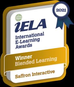 Saffron Interactive IELA Blended Learning Gold Badge