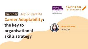 Career Adaptability: the key to organisational skills strategy webinar banner